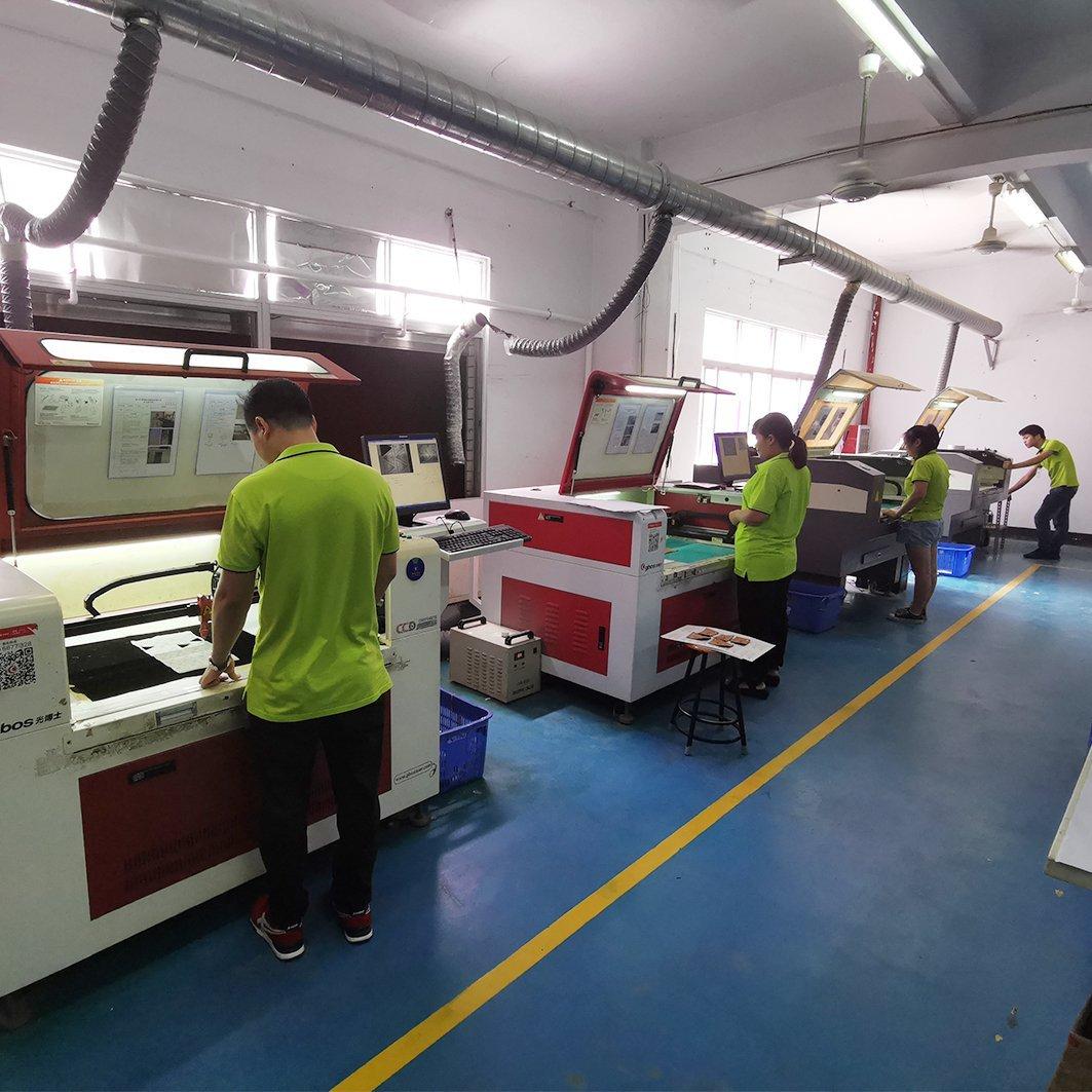 Laser cut process