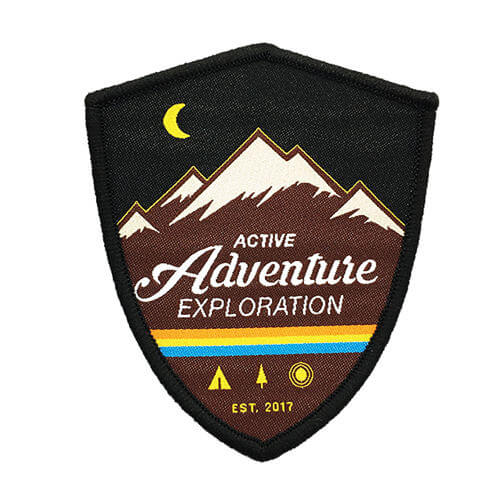 Custom Garment Woven Badge