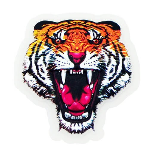 Custom Sublimation Printed Rubber Patch