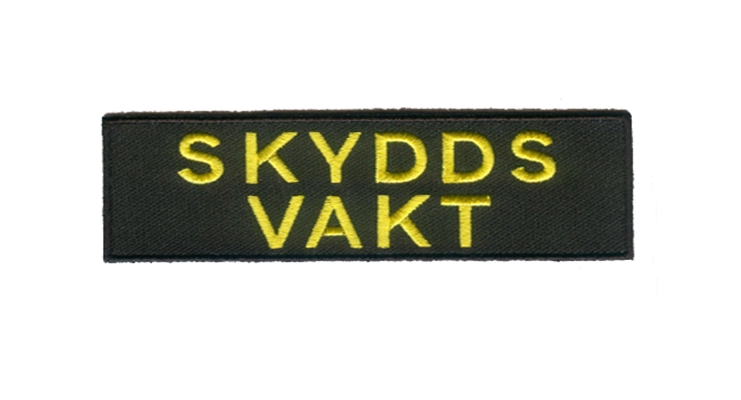 Custom name embroidered patch