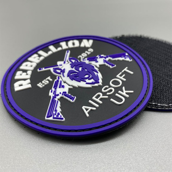 Wholesale Manufacturers Bag Accessories Clothing Rubber Patches Silicone Tag PVC Soft Custom Patches
