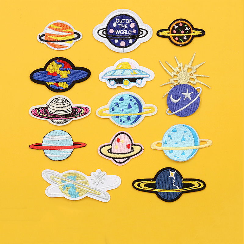 Wholesale Custom Design Hang Maker Sublimation Adhesive Army Security Country Flag NASA Embroidery Badges Patches For Clothes