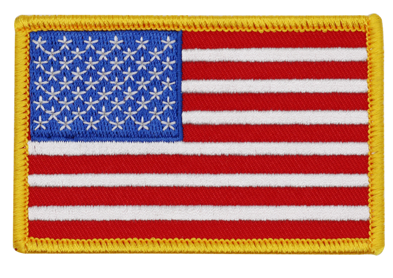 Custom embroidery USA flag army patches, embroidered Tactical Patch Military Armband Army Badge