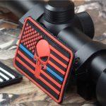 DEVGRU Seal Team Punisher American flag 3D PVC patch