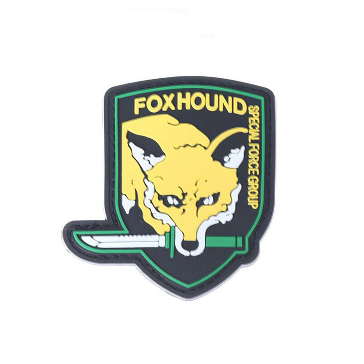 Embossed Rubber PVC Patch Tactical Main Labels Multiple Type Special Patches For Clothing Backpack Bag