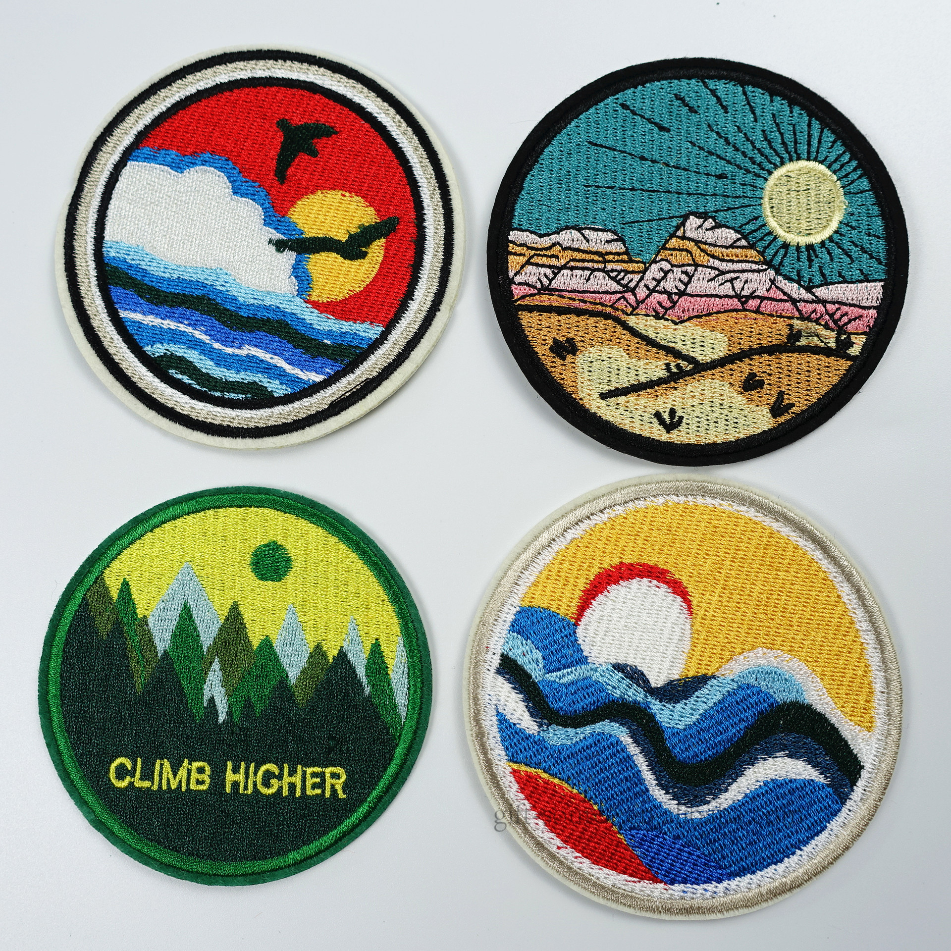 Customized Name Patches Embroidered, Custom Embroidered Brand Logo Appliques Patch, Patch Shapes For Embroidery