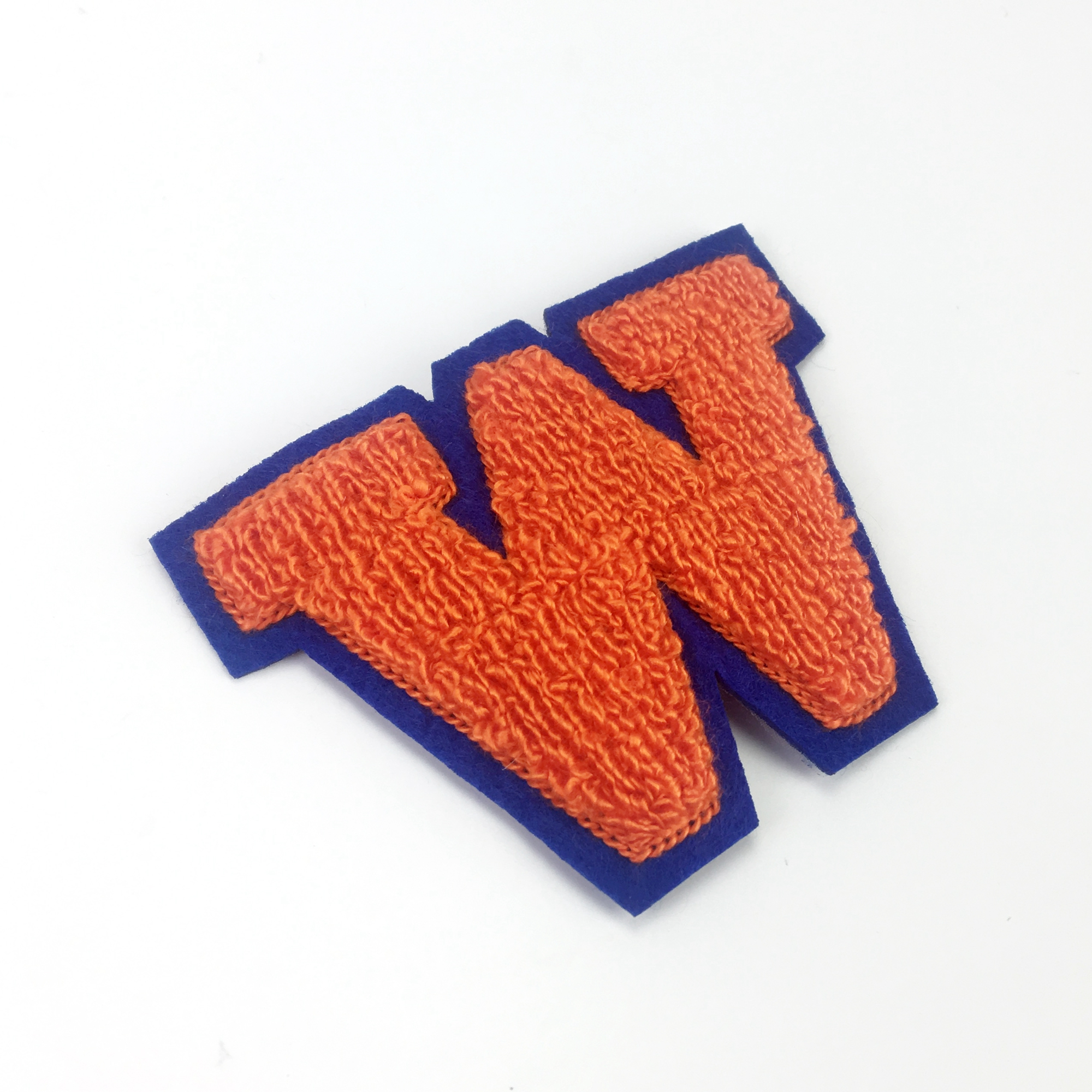 Sew On Chenille patch Embroidery Letter Patches For Hat Or Garments