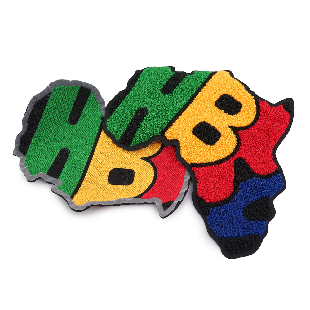 Custom Embroidered Patch , Number 92 chenille patches