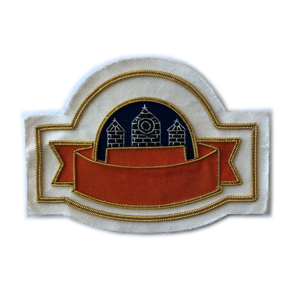 Factory Custom Bullion Patches for Garment Custom Embroidery Patches