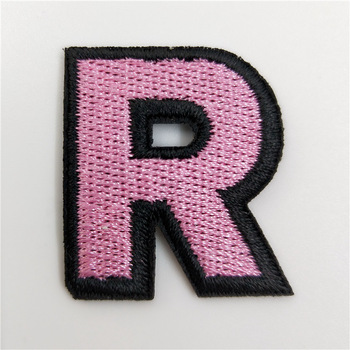 Top Hit Rates High Quality Wholesale Iron On Chenille Letter Patches Custom Apparel