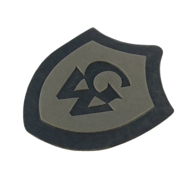 New Design Custom Printed Debossed Name Logo PU Leather Patches for Hats
