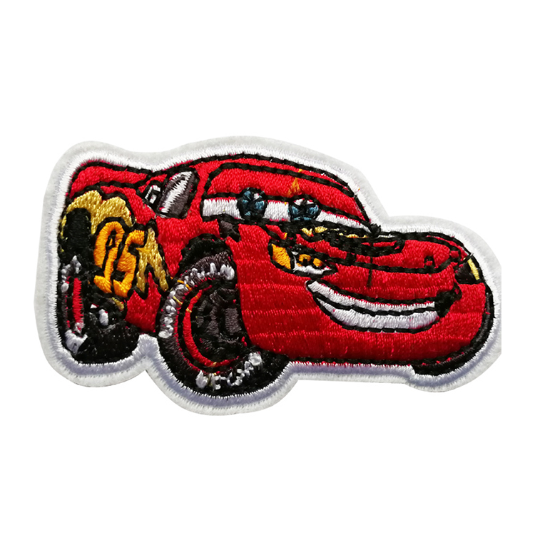 Car Embroidered Patches Sticker For Clothes Accessories Labels Iron On Applique Sewing