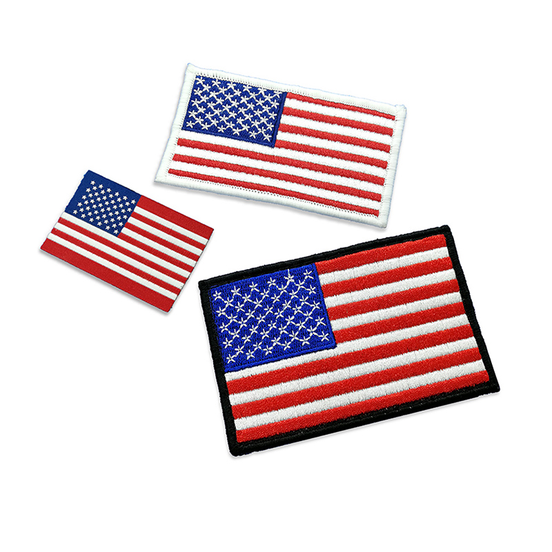 country flag embroidery patch