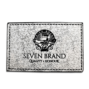 Customize leather patch